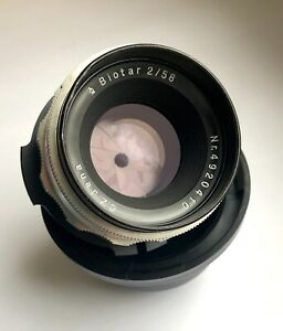 Zeiss Biotar 2/58 Lens Arri PL Mount Arriflex Ursa Red One F3 F55 35mm Speed
