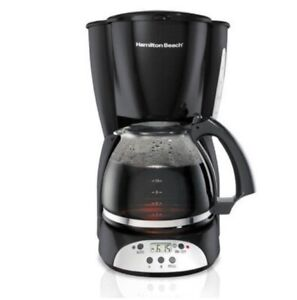 New Hamilton Beach 12 Cup Programmable Coffee Maker Digital Model# 49465R