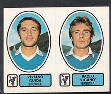 PANINI CALCIATORI FOOTBALL Adesivo 1977-78, N. 384, BRESCIA-Viviano guida