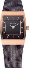 BERING Uhr 11219-265 kleine elegante Damenuhr Milanaise ultra slim design watch