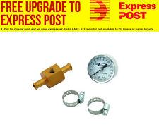 Mr Gasket Mr Gasket Fuel Pressure Gauge with In-Line Adaptor