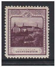 Mint Hinged Single Liechtenstein Stamps
