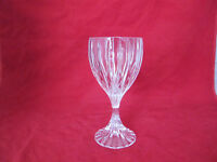 "MIKASA PARK LANE CRYSTAL WINE GLASS 6 3/8"" TALL"