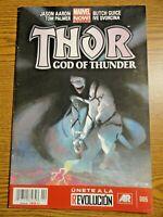 Thor God of Thunder #6 Hot Key Mexico Edition 1st Knull Gorr Spanish Marvel