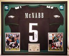 Premium Framed Donovan McNabb Autographed Philadelphia Eagles Jersey -- JSA COA