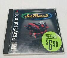 Jet Moto 2 (Sony PlayStation 1, PS1, 1997) CIB, Complete, Black Label
