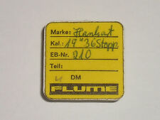 """Hanhart 19"""" cal 36 stopper stop watch part 210 third 3rd wheel / Roue moyenne"""