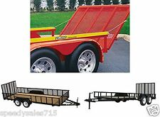 Gorilla-Lift 40101042G 2-Sided Trailer Tailgate Lift Assist New Free Shipping