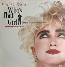WHO'S THAT GIRL OST LP MADONNA SIRE 1987 USA ORIG PRESSING SEALED FAST DISPATCH
