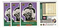 1X MAURICE RICHARD 1999 00 Upper Deck RETRO #84 Lots Available Canadiens