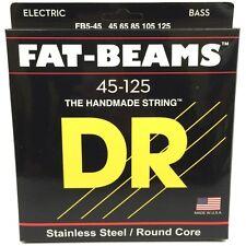 DR FB5-45 Fat Beams Stainless Steel Medium 5-String Bass Strings (45-125) MM5-45