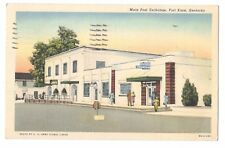Main Post Exchange Fort Knox Kentucky Vintage Postcard Sep17