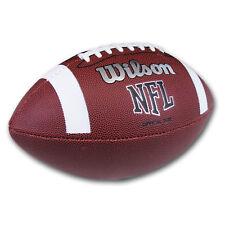 WILSON Official NFL American Football Soft Grip Super Bowl Ball