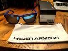 FREE SHIP! RARE Under Armour UA Assist MLB Issue Satin Royal Sunglasses AWESOME