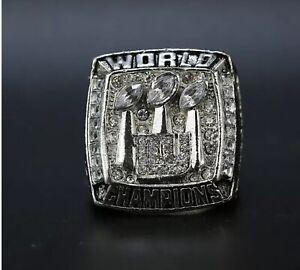 Eli Manning New York Giants Championship Replica Super Bowl Ring Size 11
