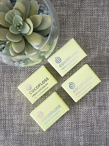 Cocofloss Mini's 4 units of fresh coconut flavor floss (7 yds. each)