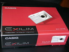 NEW Casio EXILIM ZOOM EX-Z75 PK 7.2 MP Digital Camera - Pink