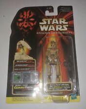 Star Wars Battle Droid with Blaster Rifle Episode 1 NIP Hasbro ( Dark Version)