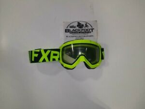 FXR Youth throttle Snowmobile/Snow Bike goggles