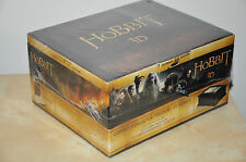 NEW The Hobbit Trilogy - Ultimate Wooden Box Collector Edition - Blu-ray 3D/2D