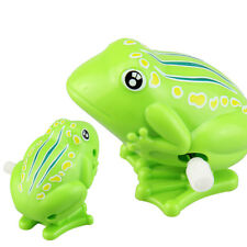 Lovely Plastic Jumping Frog Clockwork Toy Wind Up Toy For Children Kids Gifts