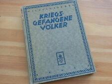 Doegen, Kriegsgefangene Völker. Bd. 1. Haltung und Schicksal in Deutschland