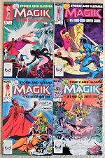 Magik Mini-Series 1-4 HIGH GRADE!
