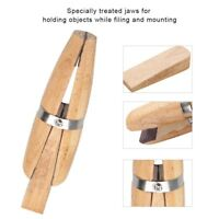 Practical Wooden Jeweler Ring Clamp Wood Jewelry Making Vise Tool Jewelry Holder
