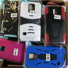 Wholesale Bulk Lot of 80 Samsung Galaxy S5 Mixed Phone Cases Various Styles