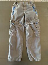 Mini Boden Boys Dark Grey Techno Pants VGUC Size 10