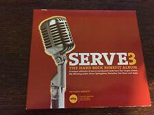 Various - 'Serve3: The Hard Rock Benefit Album' US CD Album