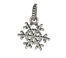 Genuine Pandora Silver Snowflake Pendant 390354CZ