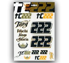 New Official Tony Cairoli 222 Large Sticker Set - ST 6122 03