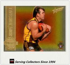 1996 Select AFL Classic Metal Future Hall Of Fame HF6: Jason Dunstall (Hawthorn)
