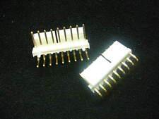 MOLEX 26-65-5090 Locking Header 9-Pos 3.96mm Press-Fit MALE GOLD **NEW** 2/PKG