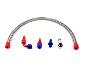 MK1 Starion Conquest Complete AN6 Braided Water Feed Line Kit