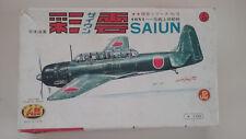 1/72 scale Aoshima   C6N1 Saiun Japanese Fighter