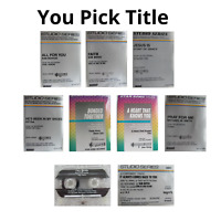Christian Praise Music Accompaniment Tracks Cassette Tapes You Pick Title
