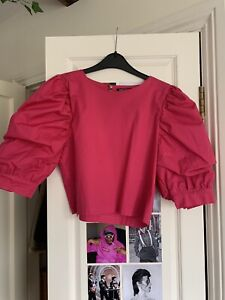 Pink Nasty Gal Top size 10