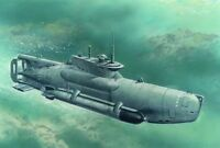 **ICM S007 1:72 Dt. U-Boot Typ XXVIIB,Seehund,late Vers.,WWII, Neu OVP**