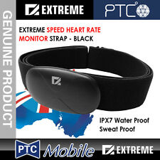 Genuine EXTREME SPEED HEART RATE MONITOR STRAP IPX7 WaterProof Sweat Proof BLACK