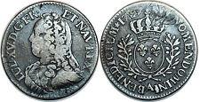 Louis XV, 1/5 ÉCU AUX BRANCHE D OLIVIER 1729 A