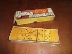 Ancien jeux de dominos en bois, jouets ancien, vieux jeux