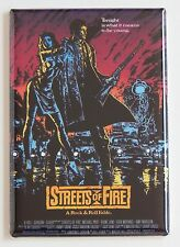 Streets of Fire FRIDGE MAGNET (2 x 3 inches) movie poster