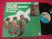 NM RARE COUNTRY LP - HANK WILLIAMS JR & THE CHEATIN HEARTS PICKIN - MGM SE-4906