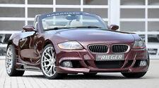 BMW Z4 E85 Roadster 2003-2005 Rieger Genuine Front Bumper Spoiler