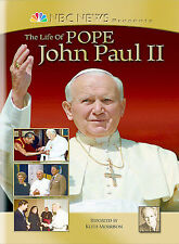 NEW NEVER OPENED NBC News Presents: The Life Of Pope John Paul II (DVD, 2005)