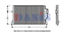 Kondensator, Klimaanlage Kondensator AKS DASIS 522380N