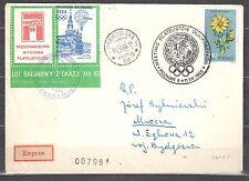Poland 1968 -  Balloon Post Cover4