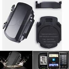 Bluetooth No Magnet Wireless Cycling Speed &Cadence Sensor for Garmin Bryton #IR